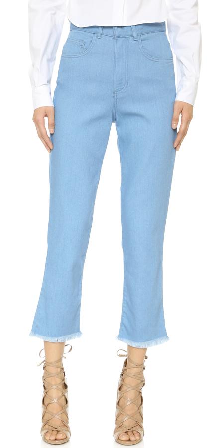 Marques'Almeida High Waist Skinny Jeans