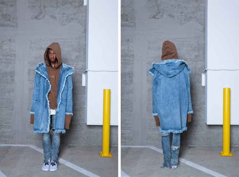 C2H4 La Denim Parka