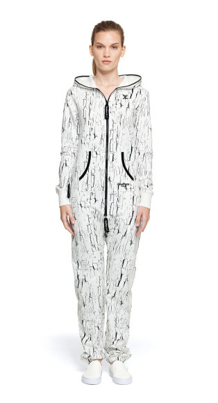Selena gomez white jumpsuit