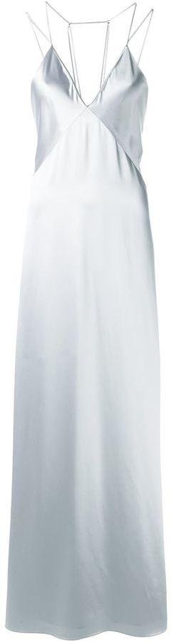 Selena Gomez silver dress