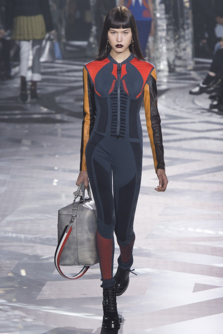 Louis Vuitton Fall 2016 catsuit
