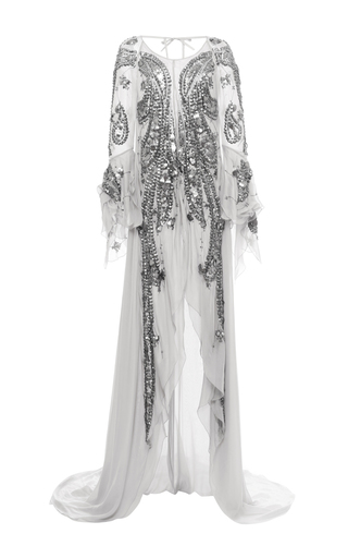 medium_antonio-berardi-light-grey-patent-leather-embroidered-handkerchief-gown