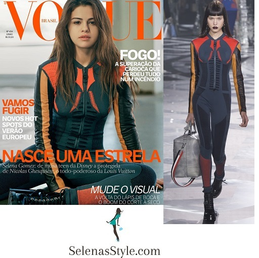 Selena Gomez style fashion outfit Vogue Brazil