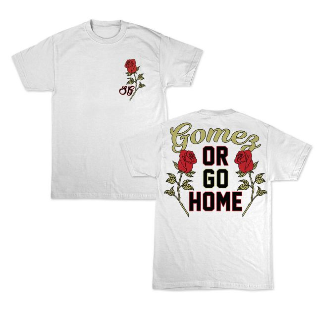 Selena Gomez Gomez Or Go home t-shirt Revival Tour