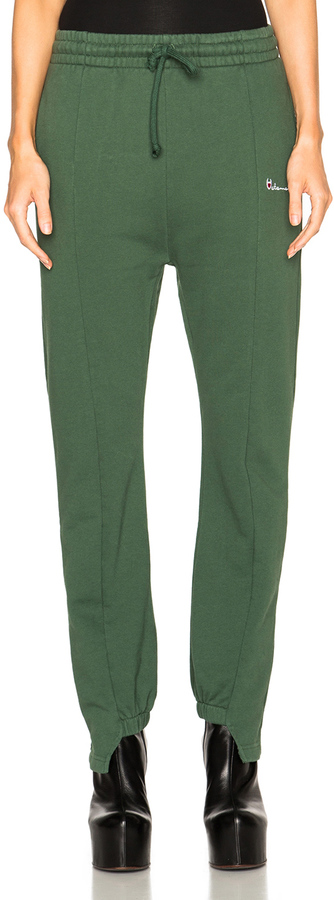 Vetements Sweatpants green