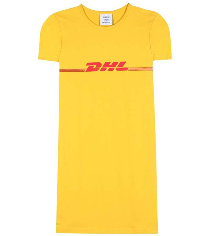 Vetements Yellow DHL T-shirt