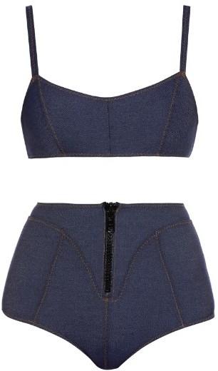 Lisa Marie Fernandez Genevieve Denim Bikini