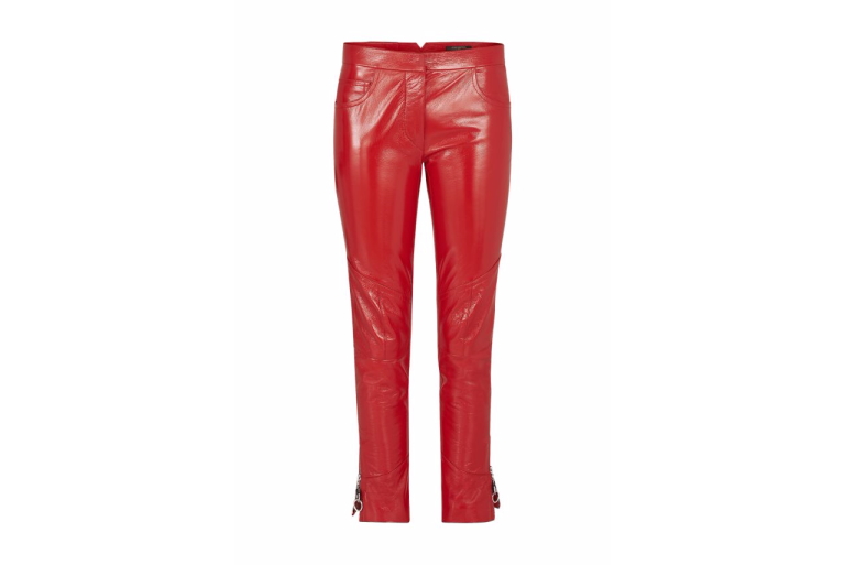 Louis Vuitton Patent Leather Straight Pants