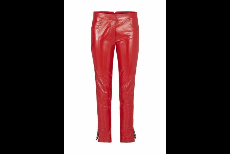 Louis Vuitton Patent Leather Straight Pants