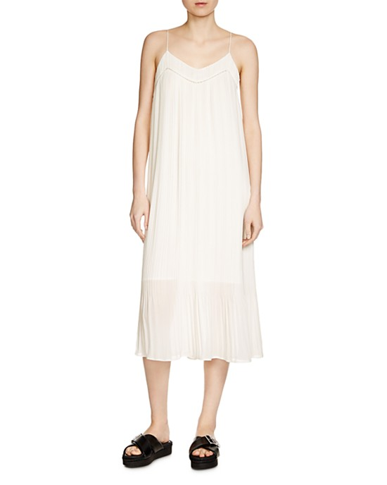 Maje Rogelio pleated dress