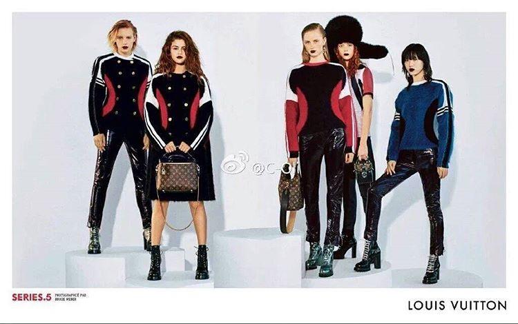Selena gomez Louis Vuitton campaign 2016