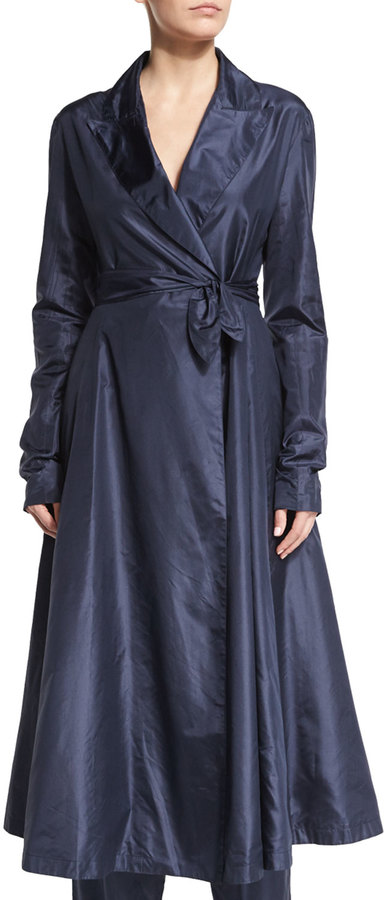 THE ROW ROTINE LONG-SLEEVE BELTED COAT