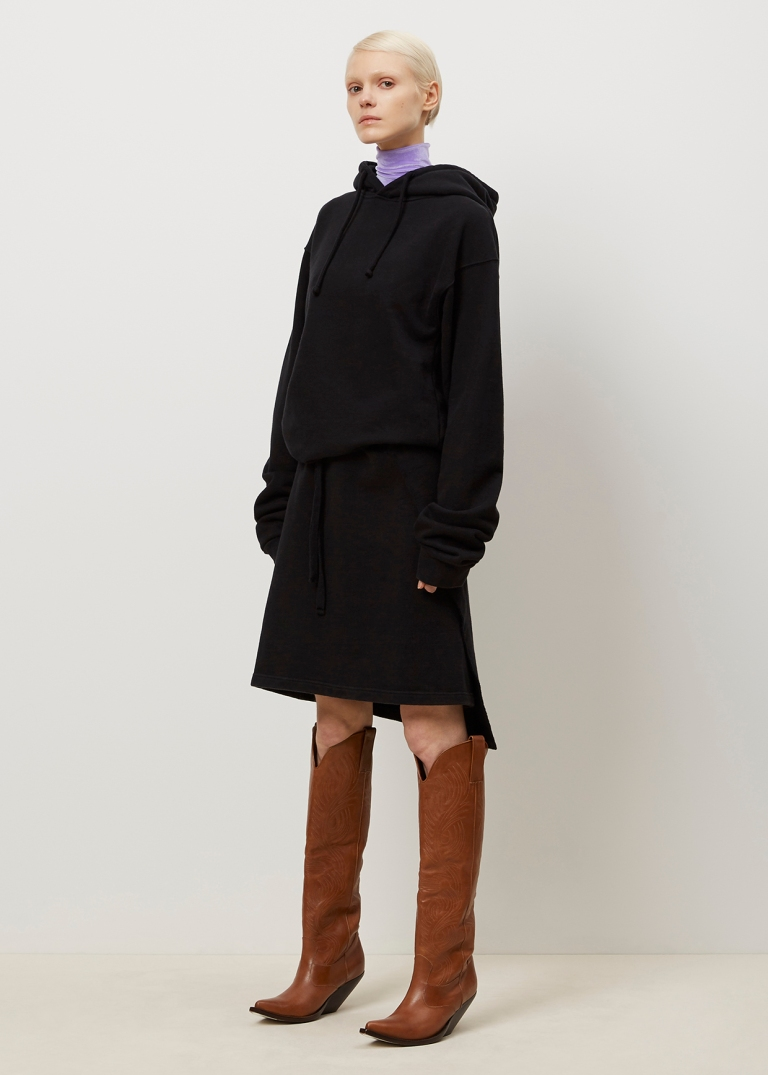 Vetements Black hoodie Dress