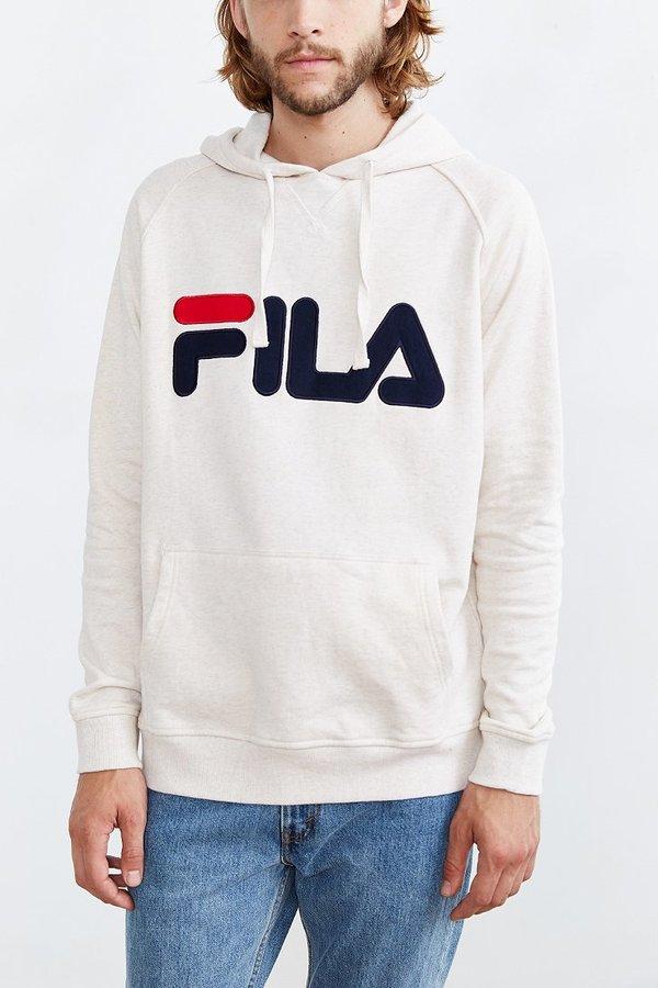 Fila Pullover Hoodie Sweatshirt