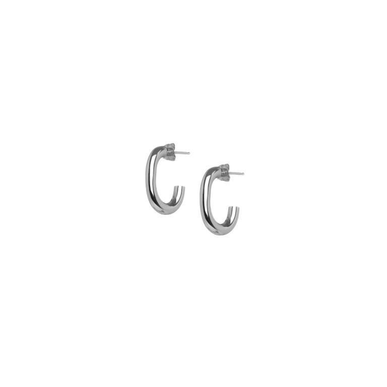 print_small.single.chain.link.hoop.earrings.sl_1