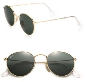 Ray Ban 50mm Rounded Sunglasses
