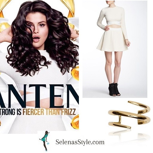 Selena Gomez strong is fiercer than frizz Pantene instagram