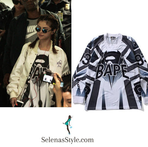 Selena Gomez white satin bomber jacket Philippines instagram