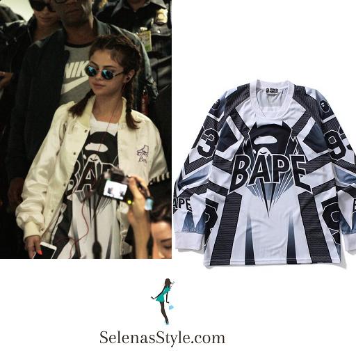 Selena Gomez white satin bomber jacket Philippines instagram
