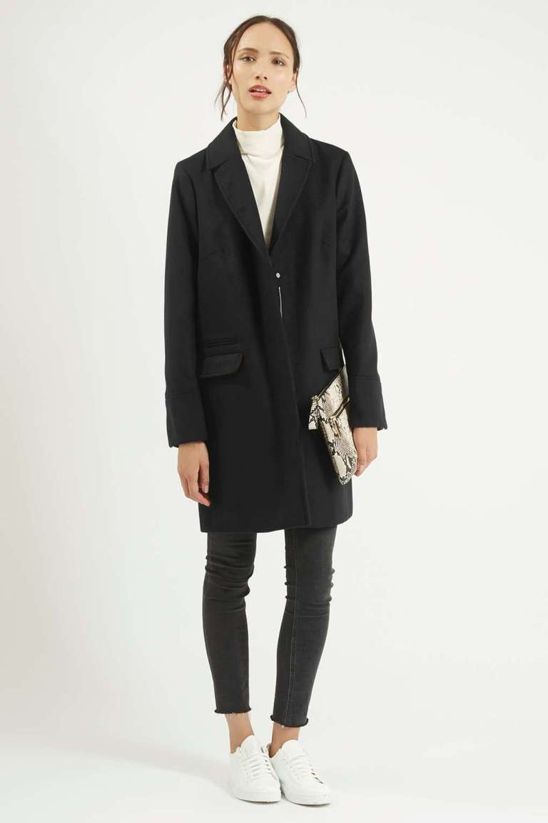 Topshop Slim Fit Coat