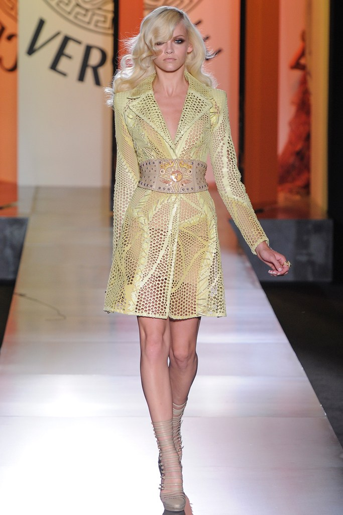 Versace Fall 2012 coat