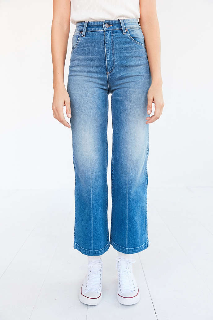Wrangler Marfa High-Rise Cropped Flare Jeans