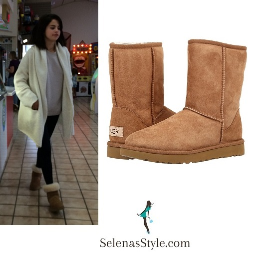 selena-gomez-cream-cardigan-suede-brown-bbots-tennesse-october-2016-instagram
