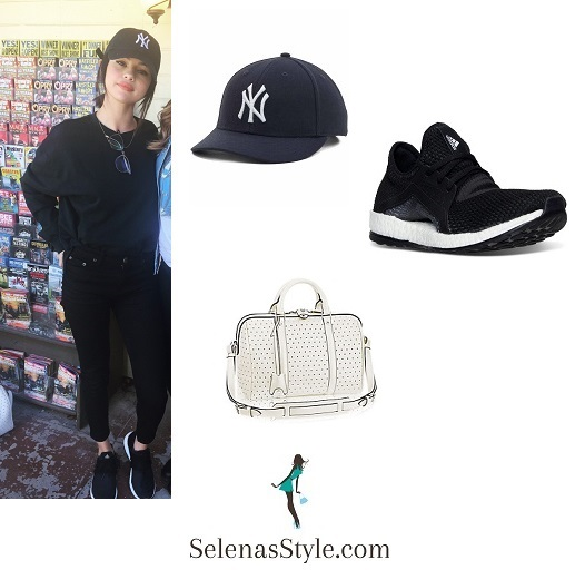 selena-gomez-ny-cap-black-trainers-tennessee-october-2016-instagram