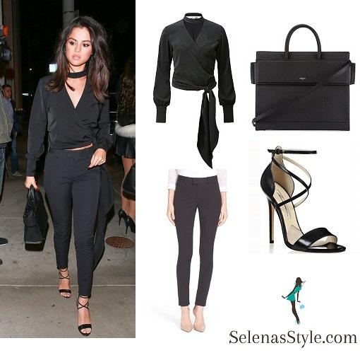 5052f5d8a Givenchy 'Horizon' Medium Leather Tote Bag – Selena Gomez Style Blog