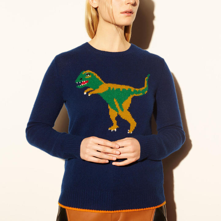 coach-1941-dinosaur-motif-crewneck-sweater
