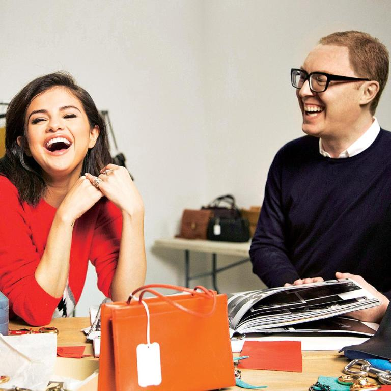 Selena Gomez and stuart evers design the Selena Grace gag photo Sunday Times