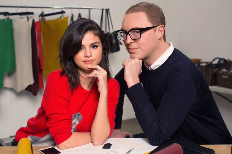 Selena gomez and Stuart Vevers photo Coach