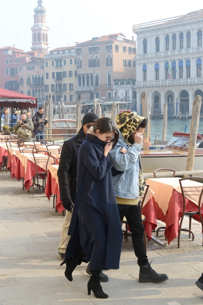 *EXCLUSIVE* Selena Gomez and The Weeknd continue their romantic trip in Italy **WEB MUST CALL FOR PRICING**
