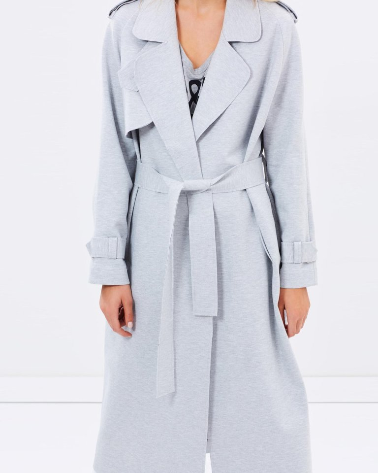 Camilla and Mark Perry Bonded Trench Jacket