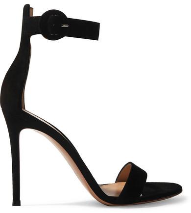 Gianvito Rossi 'Portofino' Suede Sandals