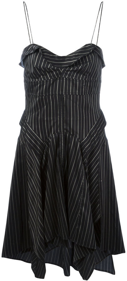 Isabel Marant Striped Shaper Dress