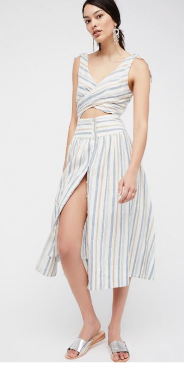 Free People 'Kansas City Girl' Midi Dress
