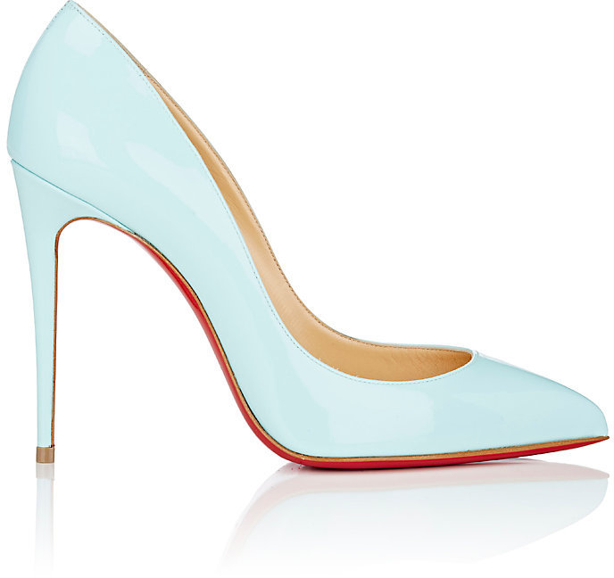 Louboutin Pigalle Follies Patent Leather Pumps
