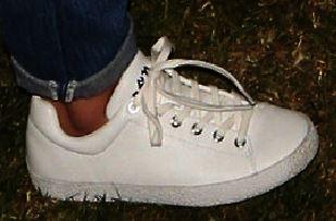 Selena gomez white Ash sneaker