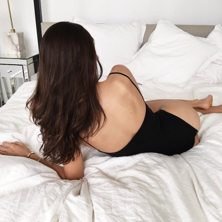 Are You Am I 'Kimia_ Bodysuit back view