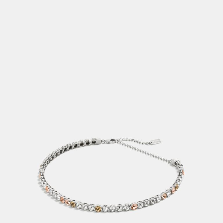 Coach Crystal Choker Necklace