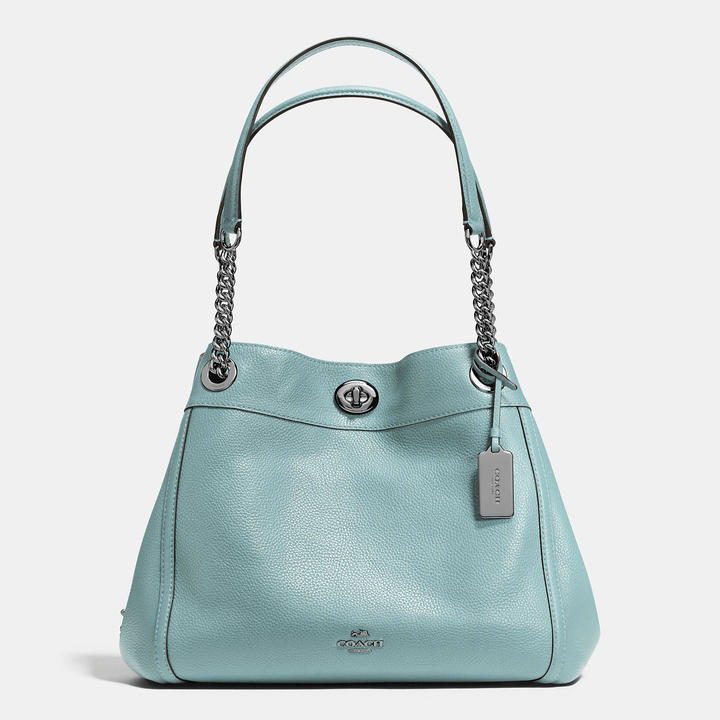 Coach Edie Turnlock Bag