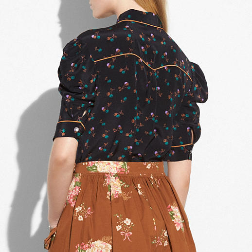 Coach Gathered Front Shirt back view