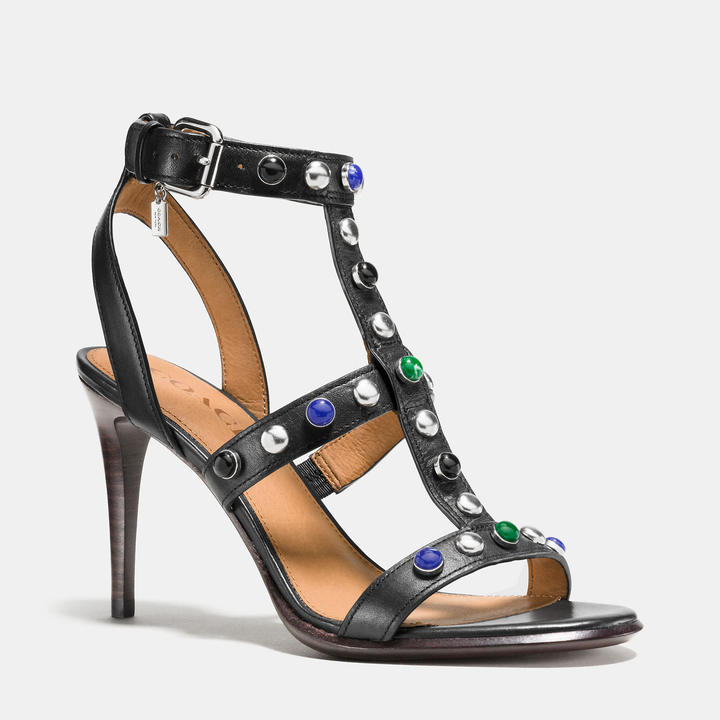 Coach Isabel Studded Sandals