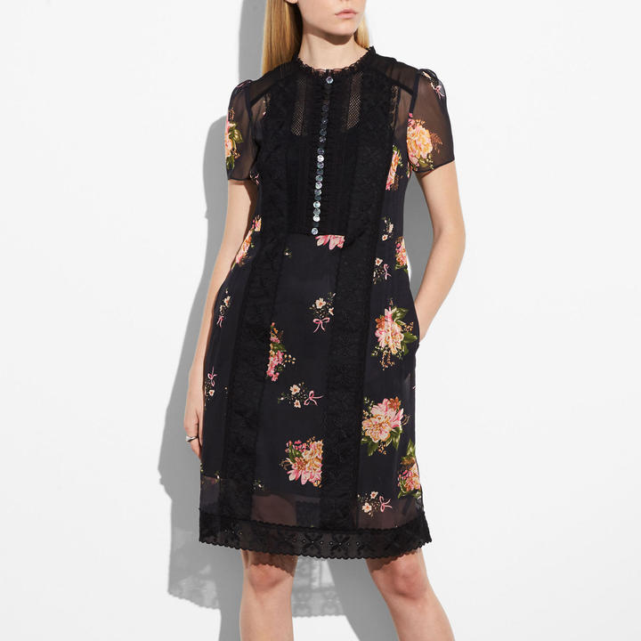 Coach Lacework Dress