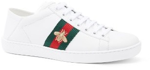 Gucci New Ace Convertible Heel Sneakers