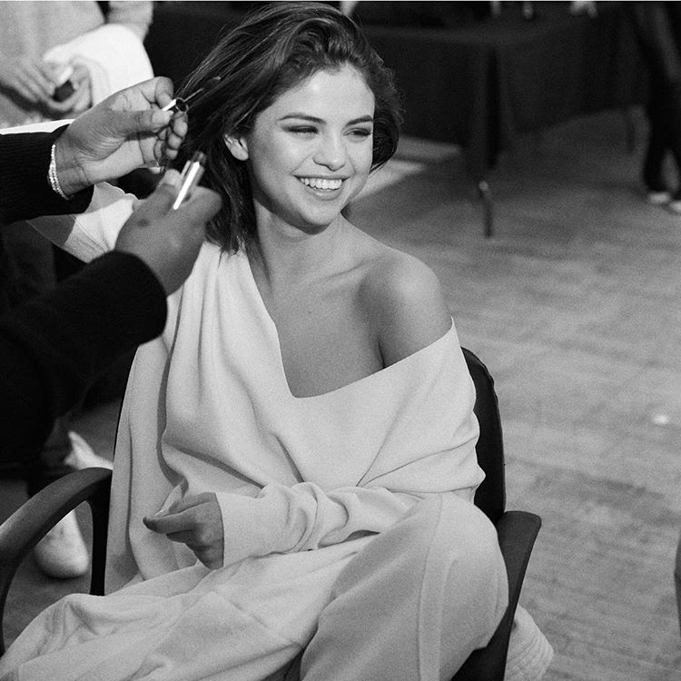 Selena Gomez behind the scenes Caoch Fall campaign