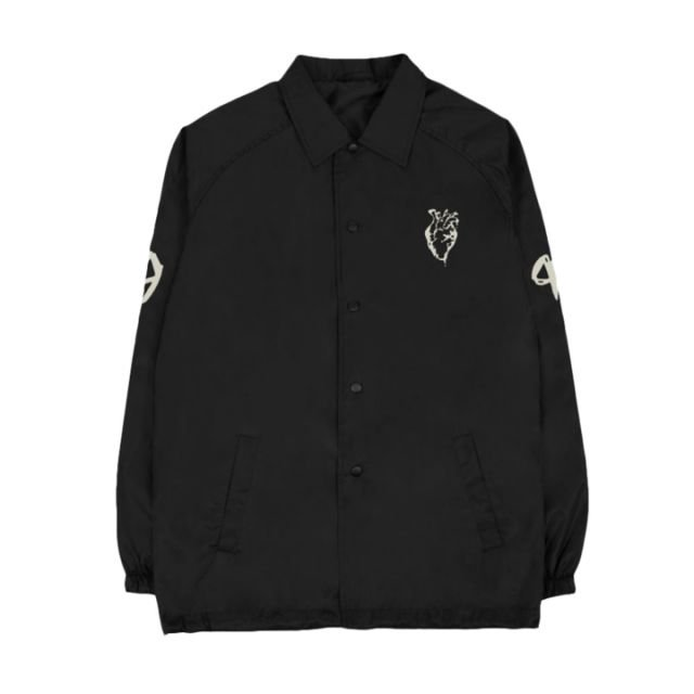 XO Heart Logo Coach Jacket