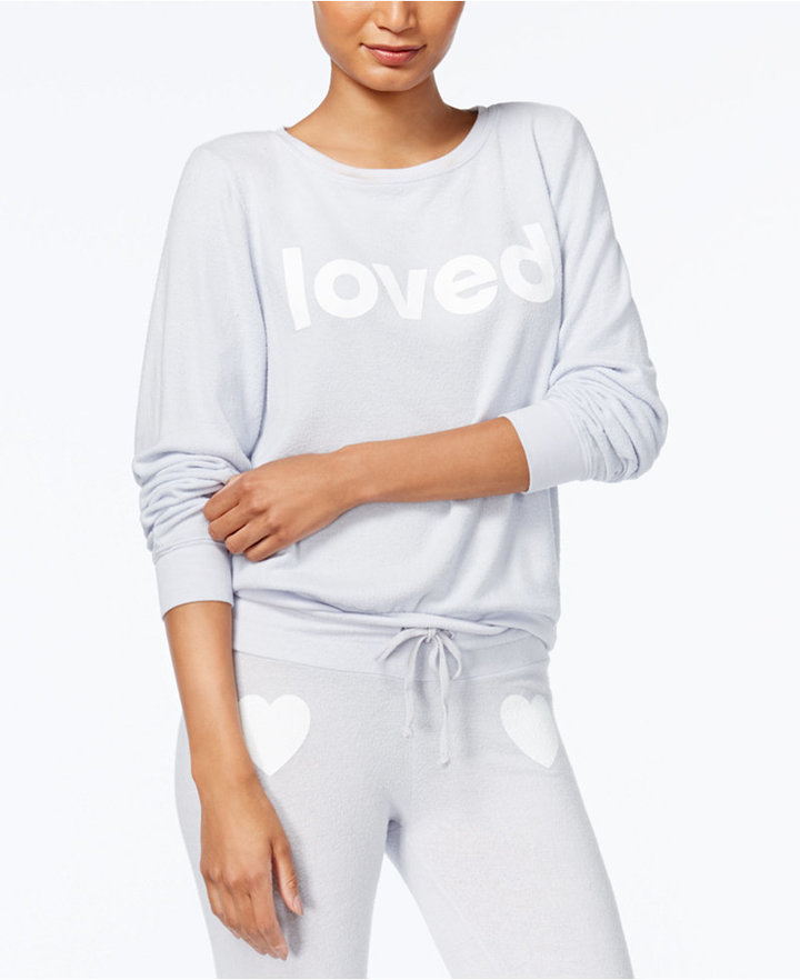 Dream Scene Cotton Loved Graphic Sweatshirt