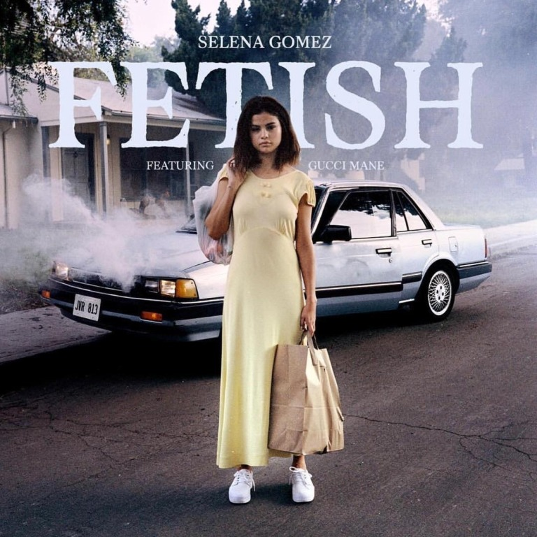 Selena Gomez yellow dress etish single July 2017